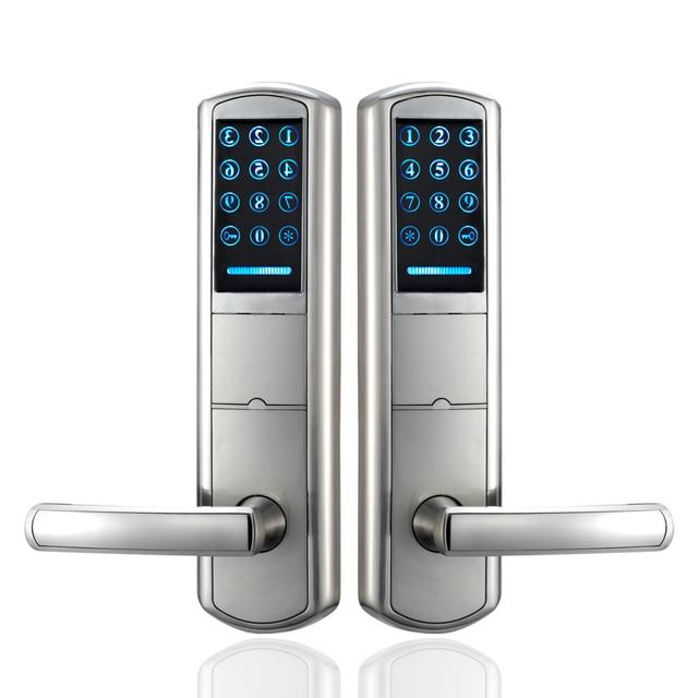 Türschloss Sicherheit zag918 sicherheit kombination digitale karte pin code schlüssellose