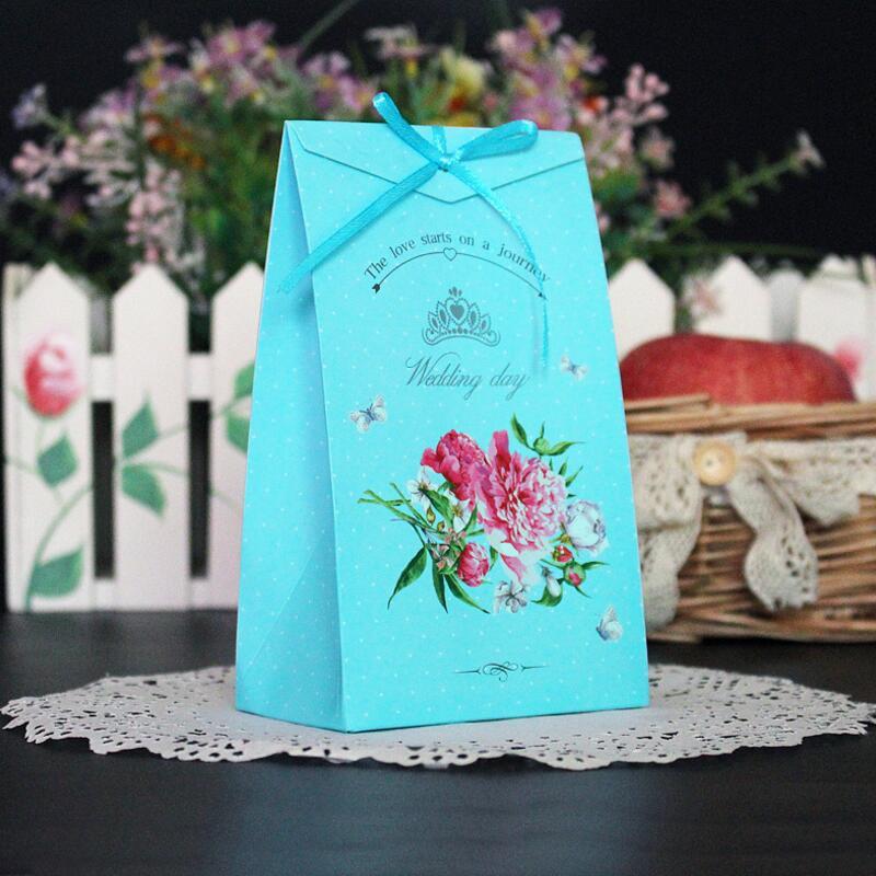 Us 899 20 Teilelos Kreative Farbe Gedruckt Band Fliege Geburtstag Baby Shower Geschenk Süßigkeitstasche Hochzeit Gefälligkeiten Pralinenschachtel