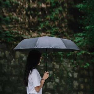 Image 4 - Youpin 접는 자동 우산 WD1 23 인치 강한 windproof 아니 필름 들어 갔어 방수 안티 자외선 태양 우산