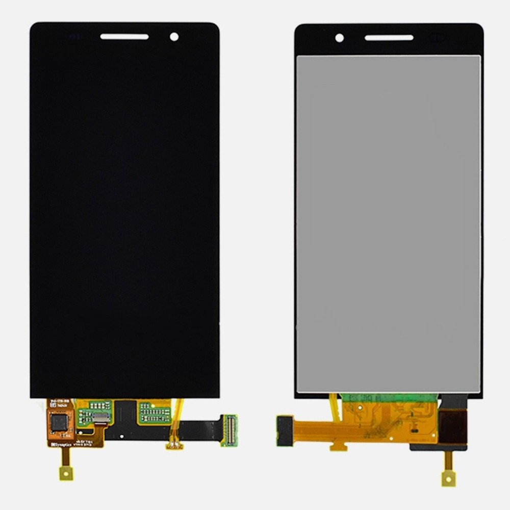 High Quality For Huawei Ascend P6 LCD screen with Touch Screen Digitizer P6 lcd display replacement Black parts free shipping lcd display touch screen digitizer assembly fit for huawei ascend c199 d199 g8 replacement repair part with tools high quality