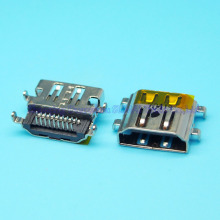 10pcs/lot 19pin HDMI Female Socket HD USB Port For asus sony toshiba hp lenovo etc  HDMI Jack