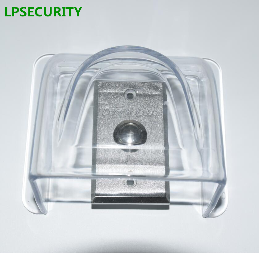 LPSECURITY Exit Button Waterproof Outdoor Closure Cover Case Box For RFID Access Control Keypad Reader Intercom