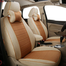 Car Believe car seat cover For Fiat linea grande punto palio albea uno 500 freemont car accessories covers for vehicle seats недорого