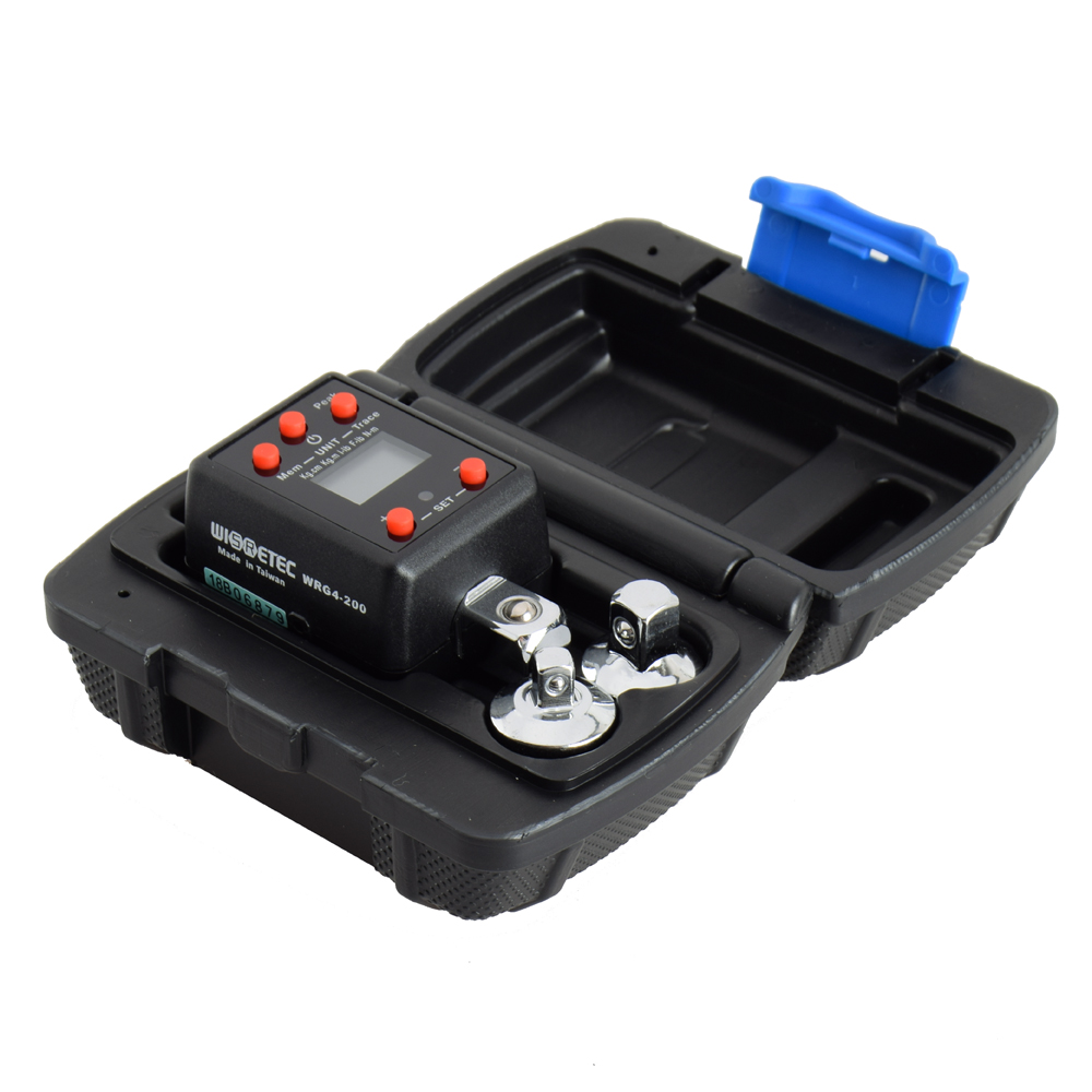 Electronic Digital Display Torquemeter Adjustable Torque Meter 10 200Nm Professional Universal Wrench
