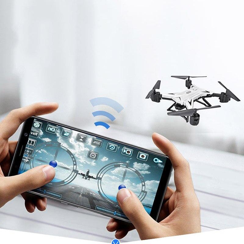 Drone avion pliable RC quadrirotor avec caméra HD 1080 P télécommande S7JN