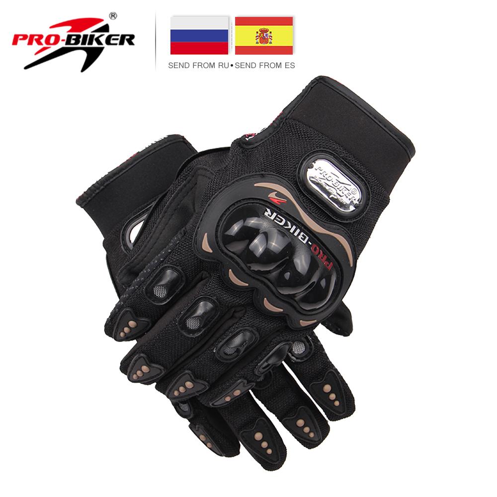 PRO-BIKER Motorcycle Off Road Racing Gloves Luvas Motociclismo Luvas De Moto Luva Moto Motocross Gloves Knight Motorbike Gloves pro biker motorcycle riding gloves breathable motocross off road racing moto full finger gloves with stainlesssteel injection