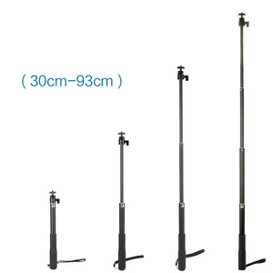 Image 4 - 36 Handheld Extendable Pole Selfie Stick with Tripod Stand for GoPro Hero 8 7 6 5 SJCAM DJI Osmo Action Camera Accessories Set