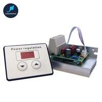 Ultra High Power AC 220V 10000W Digital SCR Electronic Voltage Regulator Speed Control Dimmer Thermostat Digital