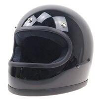 Half Face Open Vintage Motorcycle Helmet Man Women Harley Scooter Motorbike Helmets Retro Moto Casque Casco