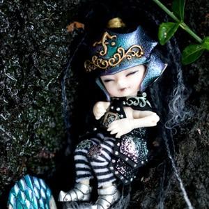 Image 2 - Free Shipping Fairyland Realpuki AKIa1/13 Doll BJD Pink Smile Elves Toys for Children Gift for Boys Girls Birthday