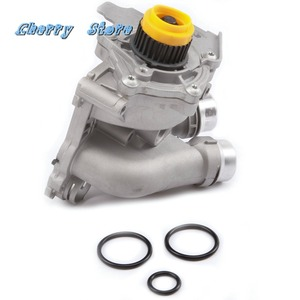 Image 2 - Nowy 06H 121 026 DD aluminium pompa wody uaktualnić dla Audi A4 A6 Q3 Q5 VW Passat Golf Jetta siedzenie Tiguan Skoda 2.0TFSI 06H121026CQ