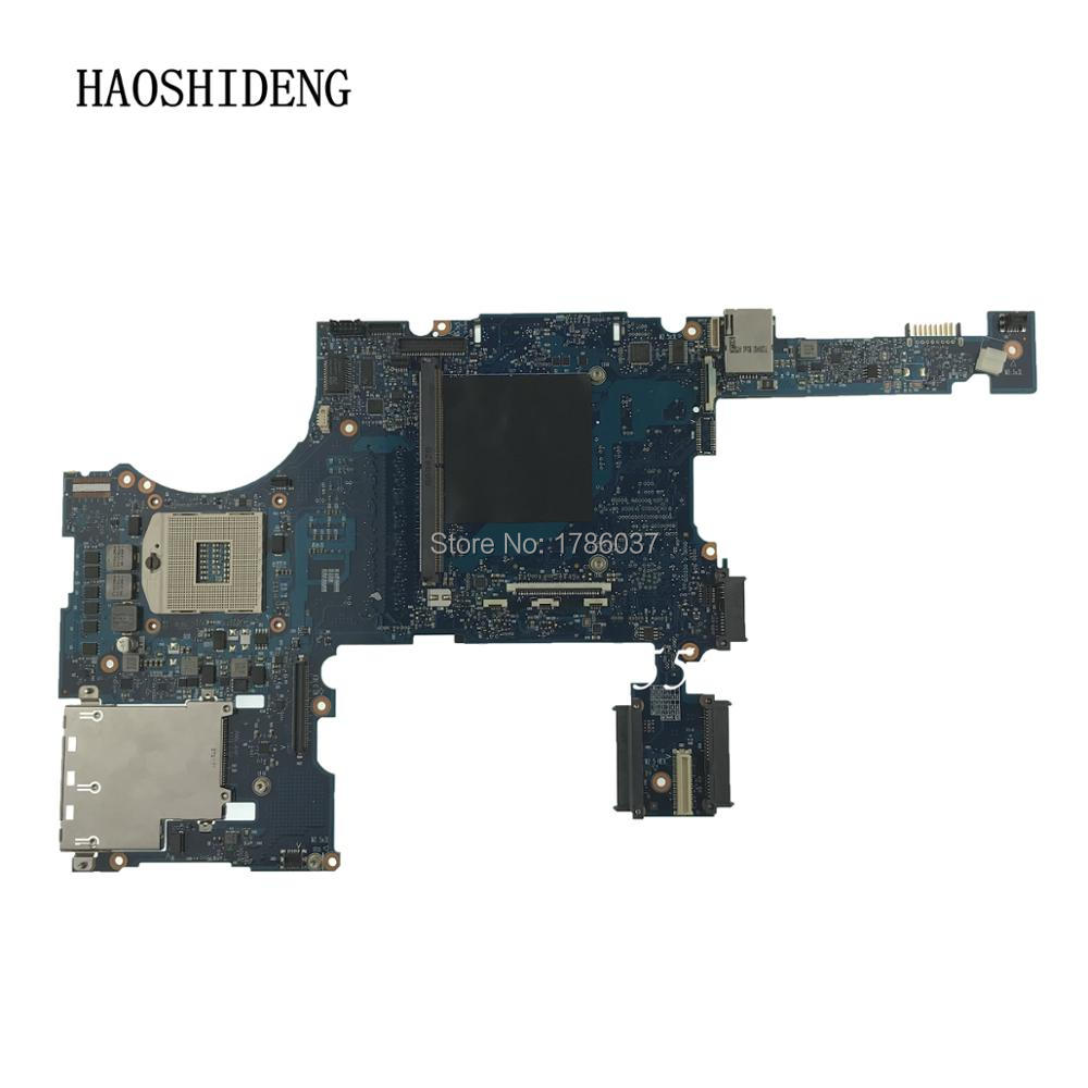 HAOSHIDENG 652508-001 mainboard for HP elitebook 8760W series laptop motherboard QM67.All functions fully Tested ! for hp 605321 001 laptop motherboard mainboard fully tested all functions work good