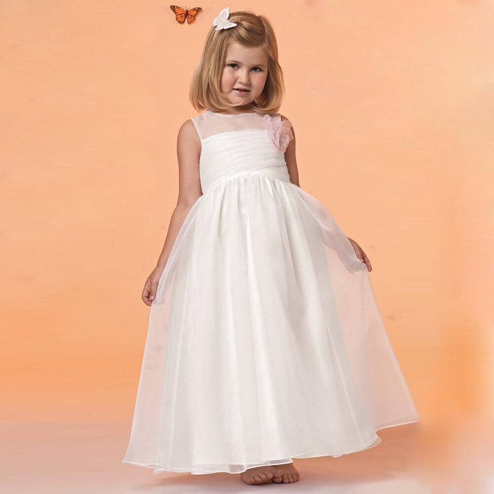 Cheap Wedding Dresses For Sale: First Communion Dresses For Girls Ivory Cheap Flower Girl