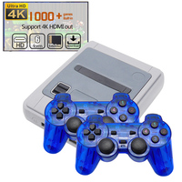 New 4K HDMI TV Video Game Player Console Built in 1000+Games Support 64 bit TV Game Output for GBA/NEO/MD/FC/PS1/Sega