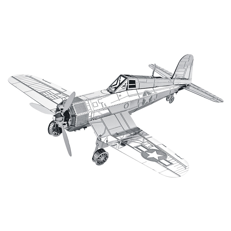 Zero Fighter Raptors Scout Military Series Model DIY Jigsaw 3D Metal Puzzle Laser Cutting Assembly Kids Educational Toys buw constellation frame series pisces diy wooden 3d puzzle jigsaw model g pf102 creative toys of boys girls preschool education games