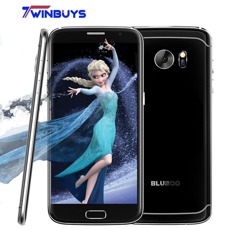 Цена за Оригинальные bluboo край 5.5 дюймов мобильный телефон android 6.0 mt6737 Quad core Смартфон 2 ГБ RAM 16 ГБ ROM Отпечатков Пальцев 4 Г LTE мобильный телефон