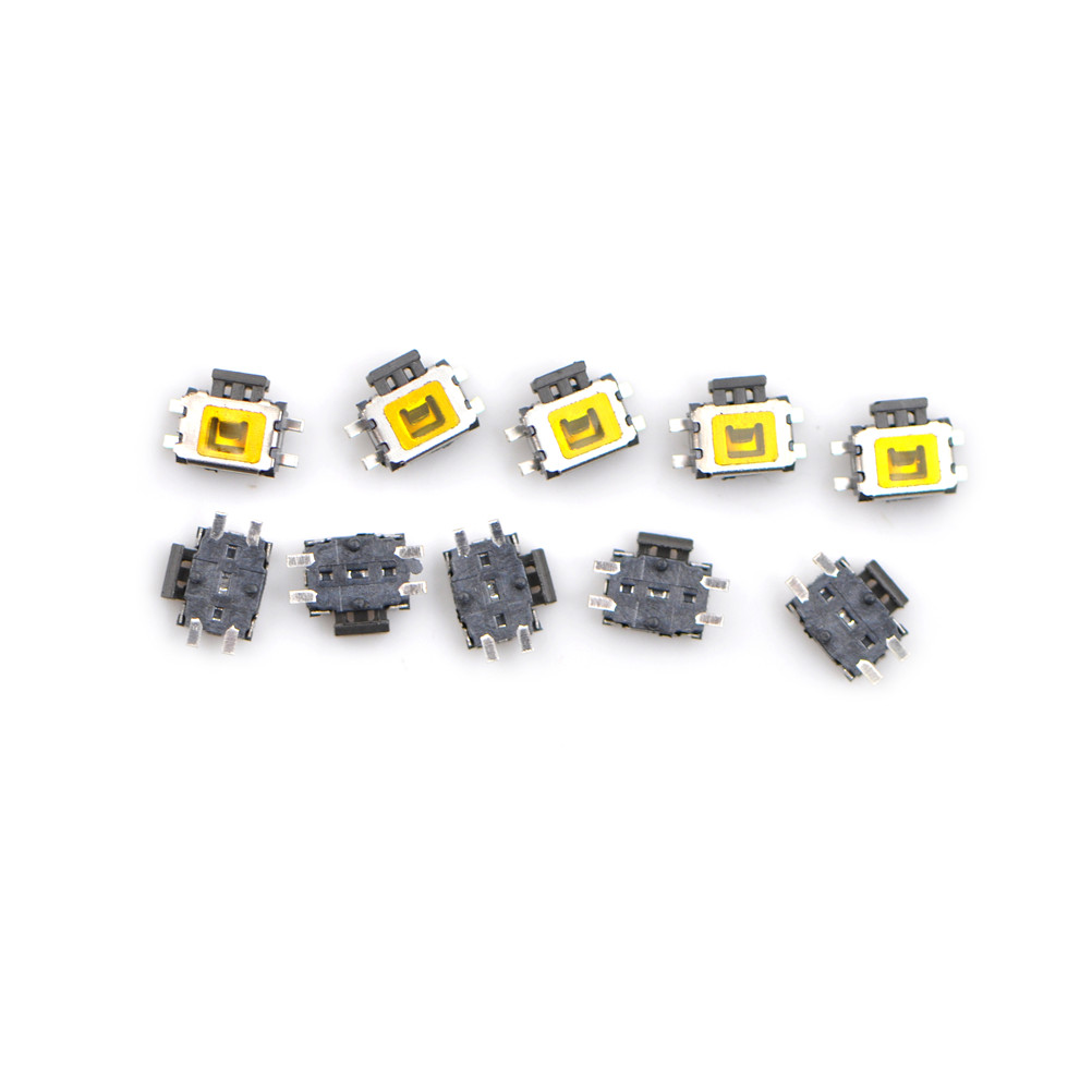 5Pcs//Set 12V Push-Button Switch Waterproof Switches with 4 Leads for Motorcycle//Car