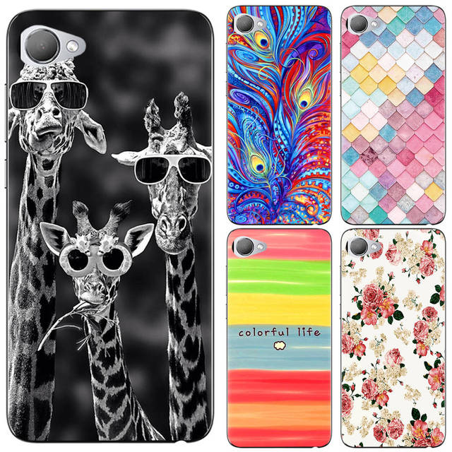 lowest price 3dfc7 b2027 US $0.99 20% OFF New Arrival Phone Case For HTC Desire 12 / Desire 12 Plus  Fashion Design Art Painted TPU Soft Case-in Fitted Cases from Cellphones &  ...