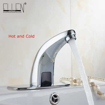 Hot And Cold Automatic Hands Touch Free Sensor Faucet Bathroom Sink Tap Bathroom faucet Water Mixer Crane FYG334 - DISCOUNT ITEM  20% OFF All Category