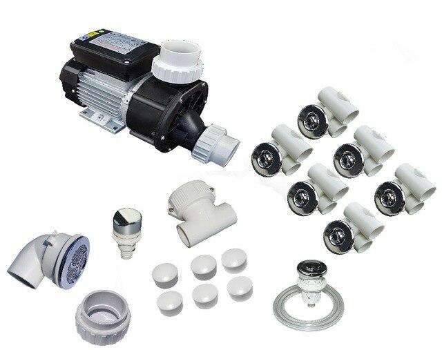 Whirlpool Bad Onderdelen : Bad alle onderdelen kit collection met hp whirlpool jetted tub