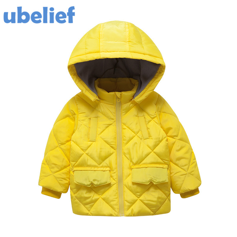 UBELIEF toddler winter coat boy down winter coats kids down blue solid warm coats and jackets winter child boy down jacket parka 2017 fashion boy winter down jackets children coats warm baby cotton parkas kids outerwears for