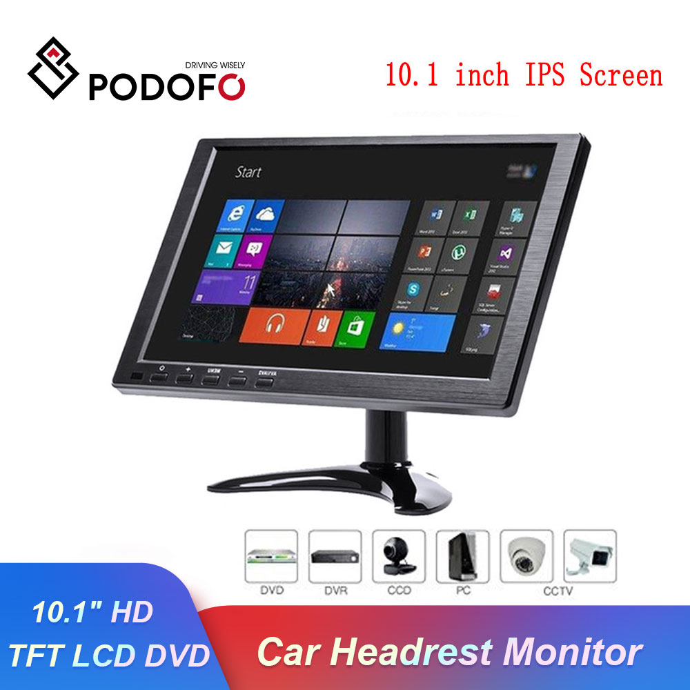 Podofo Car Monitor 10.1