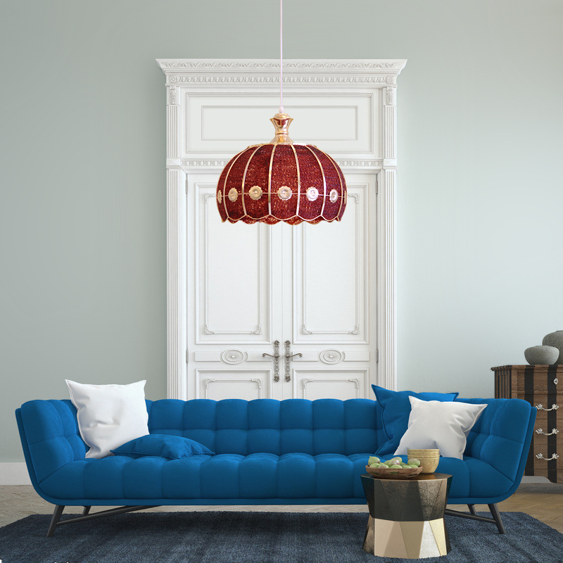 Balcony 1 pcs cord pendant lights Lamparas with Acrylic shade Modern Bedroom Porch Bar light European Kitchen Led fixtures