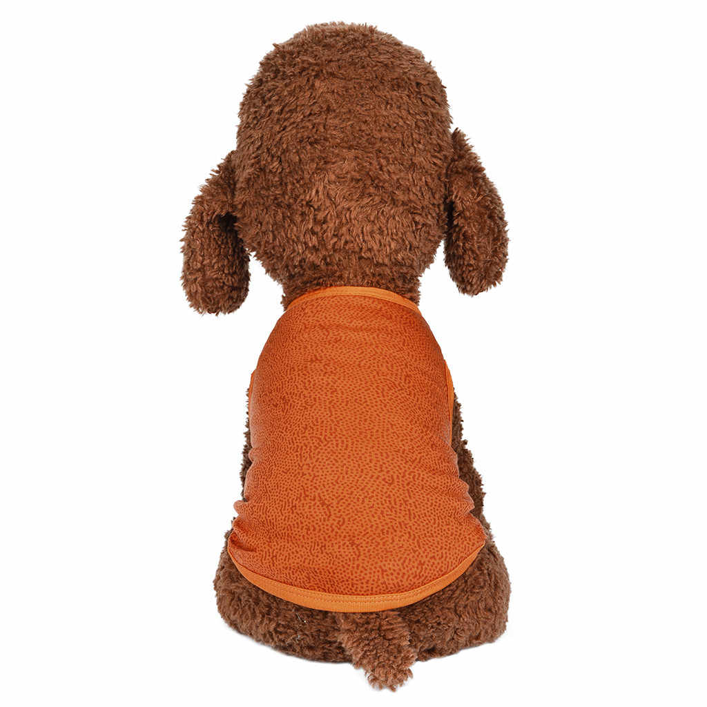صدرة الحيوان الأليف الصيف تنفس مريحة الخيال كسر نمط الكلب القط الملابس جديد وصل #20190716