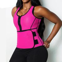 Neoprene Vest Body Shaper Women Slimming Waist Trainer Hot Shaper Tops Fashion Workout Shapewear Adjustable Sweat