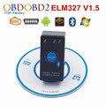 Супер ELM327 V1.5 Выключатель Питания Для Всех Протоколов OBD2 Диагностический Сканер Инструмент ELM327 Для Android Torque OBDII CAN-BUS Code Reader