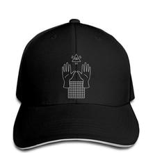 bda87630635 hip hop Baseball caps Funny Men hat cap Black Men Vaporwave Occult  Illuminati cap Funny(