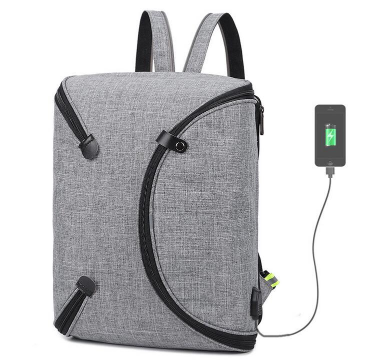 Poesechr 2018 Anti-voleur USB charge formant sac à dos pour ordinateur portable pour femmes hommes sac à dos école sacs à dos sac pour homme Mochila