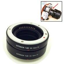 מתכת הר AF אוטומטי פוקוס מאקרו Tube הארכת טבעת עבור Fujifilm Fuji X T2 X T20 X PRO2 X PRO1 X E1 X E2 X E3 X A1 x A2 X M1 XA5