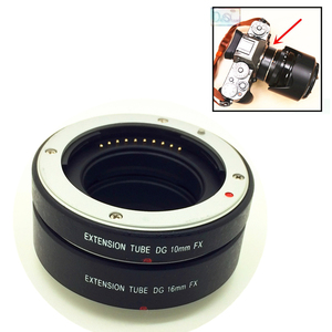 Image 1 - Metal Mount AF Auto Focus Macro Tube Extension Ring for Fujifilm Fuji X T2 X T20 X PRO2 X PRO1 X E1 X E2 X E3 X A1 X A2 X M1 XA5