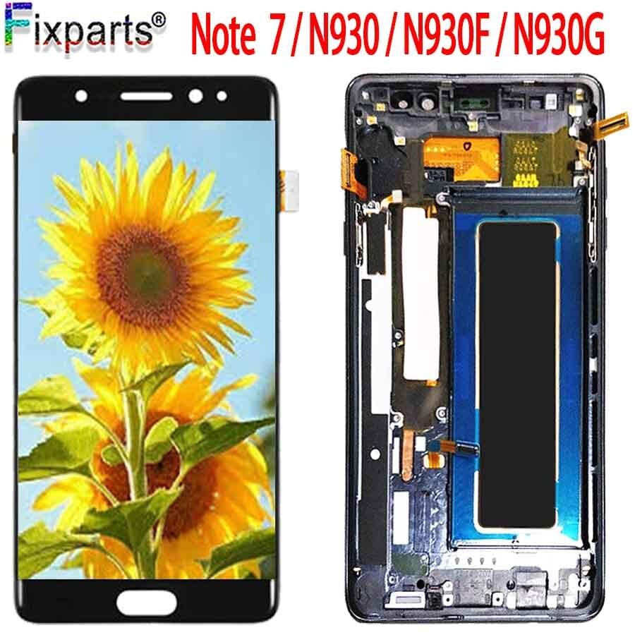 Pour Samsung Galaxy Note7 note FE 7 N930 N930F G LCD écran tactile remplacement numériseur assemblée pour Samsung Note 7 LCD