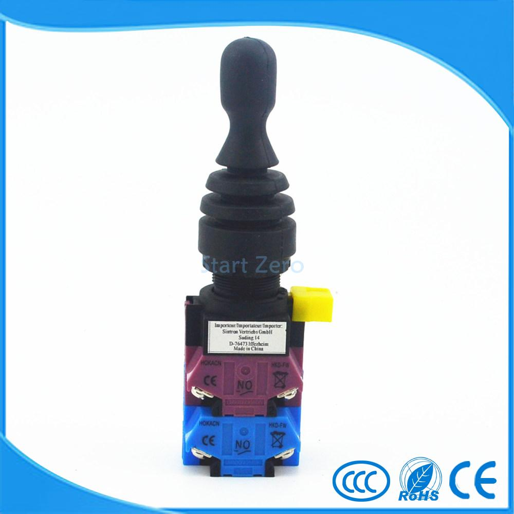все цены на 4NO 4 Position Momentary Type Monolever Joystick Switch Cross Button Switch HKD-FW24 онлайн