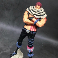 24cm Anime One Piece Action Figure Toys Charlotte Katakuri Character PVC Figures Model Toys 24cm
