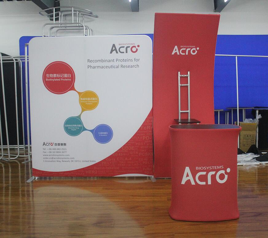 Exhibition Stand Wall : M m exhibition booth size portable advertising stretch easy