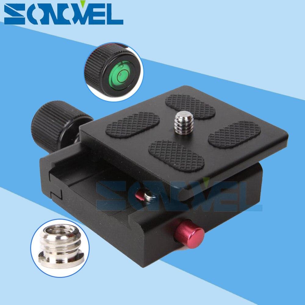 50x50mm QR-50 abrazadera cuadrada adaptador plate con gradienter ...
