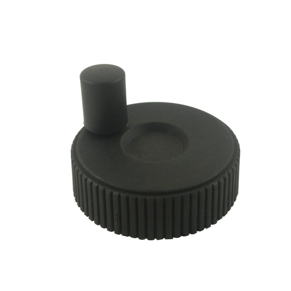 2pcs Black Hand Wheel 6x50 8x50 10x50 8x60mm Revolving Handle цена