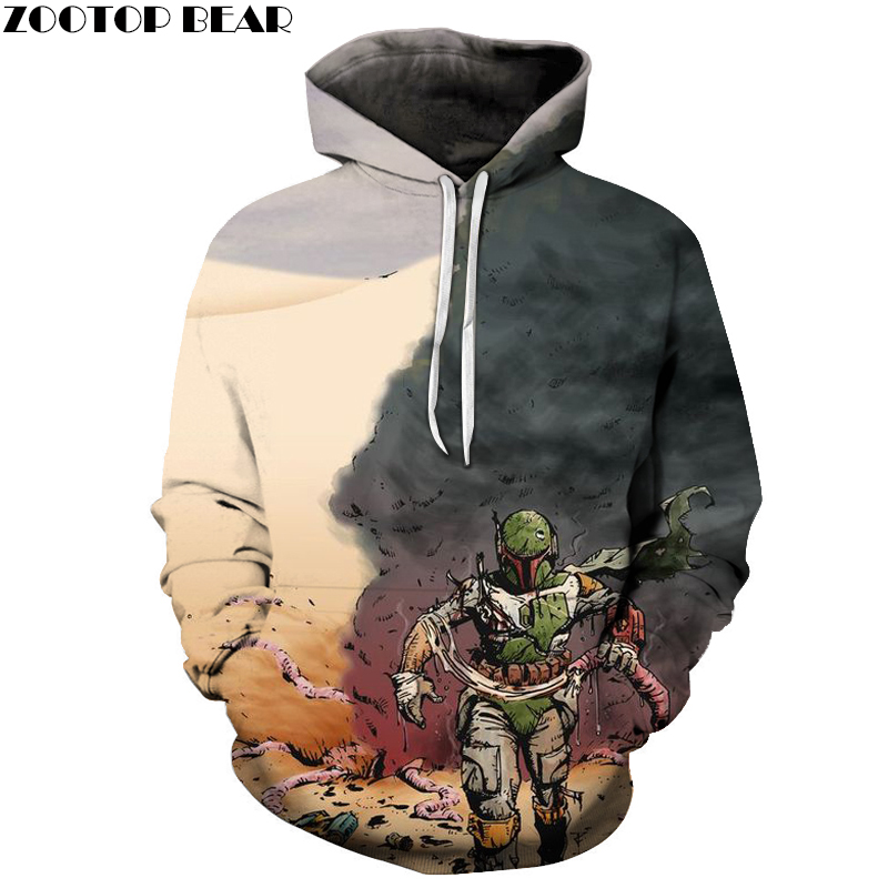 Halloween Hoodies Sweatshirts Mens Hoodie 3d Tracksuit Hooded Sweatshirt 3d Printing Pullover Hip Hop Coat Drop Ship ZOOTOP BEAR