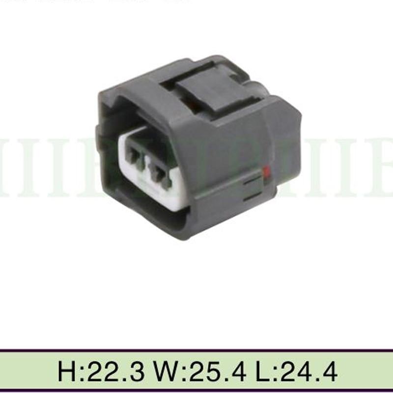 100Sets lot 2Pin Female Connector Plug Repair Kit for audi VW