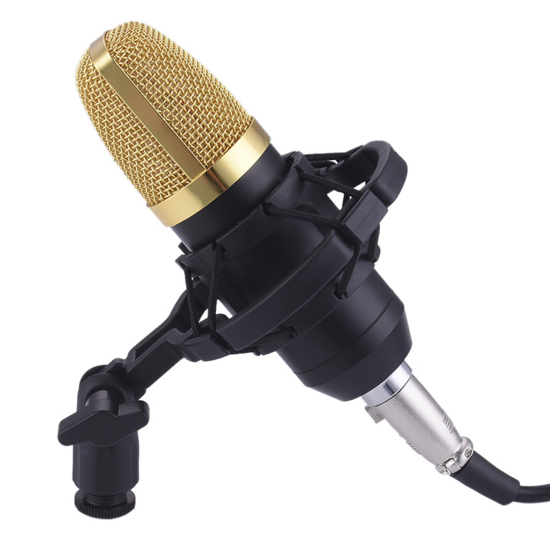 professional bm 700 bm700 condenser ktv microphone cardioid pro audio studio vocal recording mic. Black Bedroom Furniture Sets. Home Design Ideas