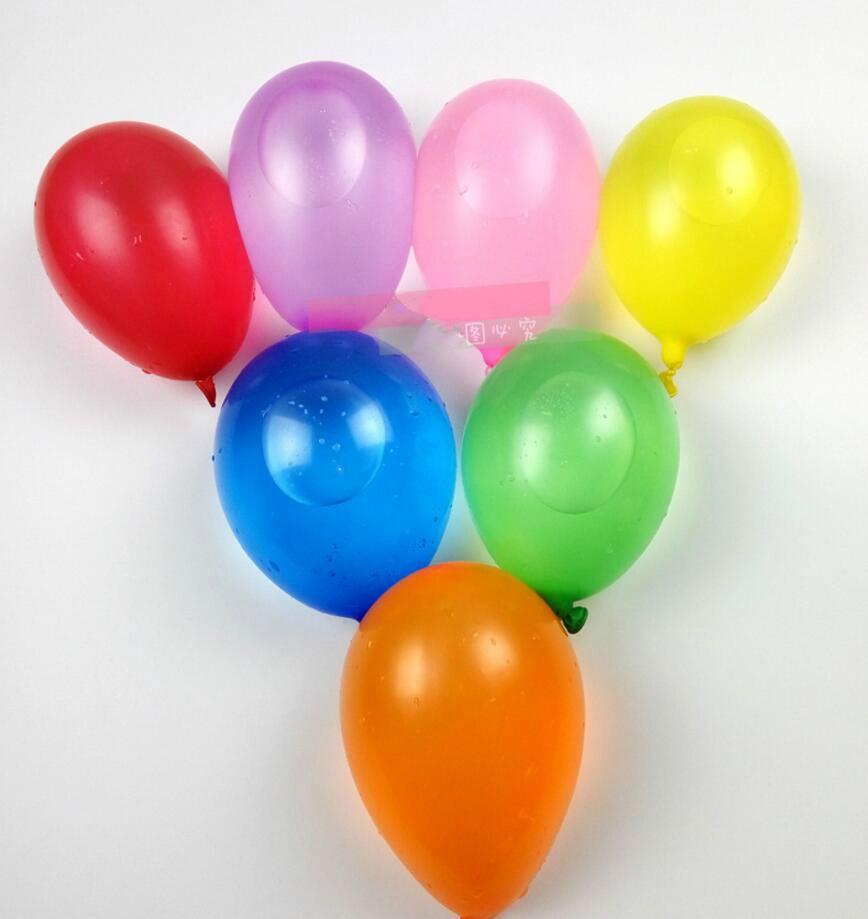 100pcslot No3 Small Balloon Gun Target Apple Latex Balloon Swimming