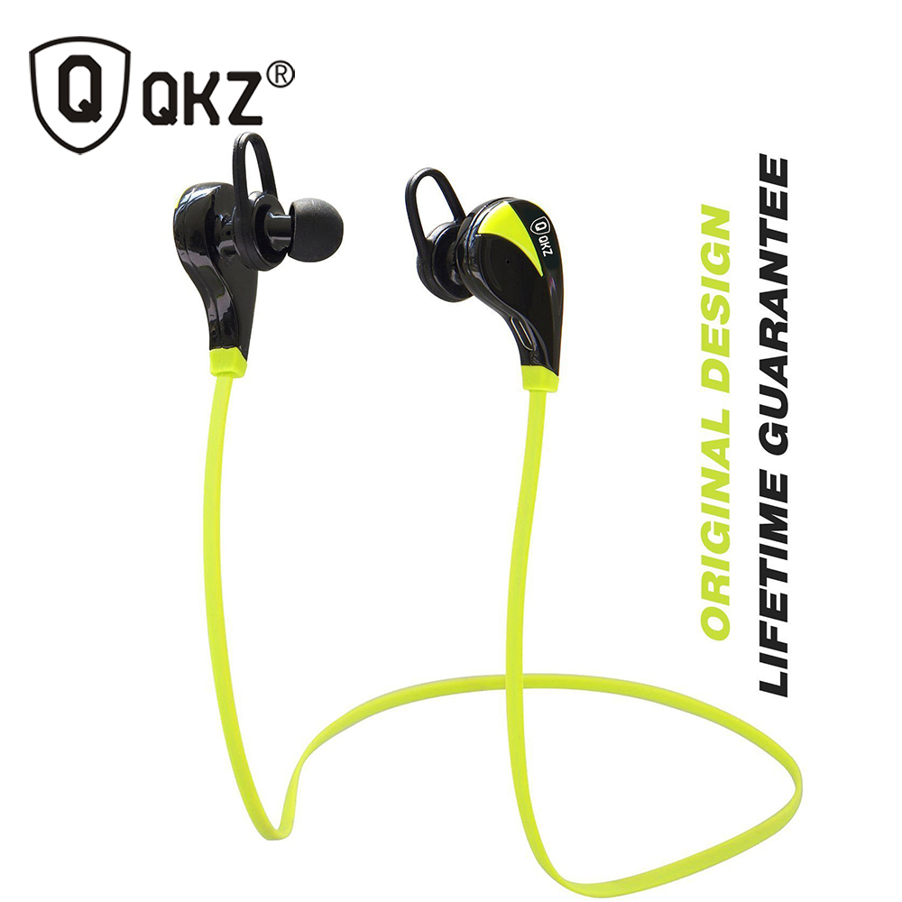 Bluetooth Headphones QKZ G6 Wireless Stereo Earphones Fashion Sport Running canalphones Studio Music Headsets with Microphone