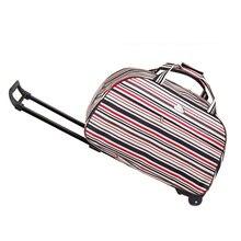 Frauen Trolley Reise-koffer mit Rädern Reisen Gepäck Einkaufen Reise-koffer frauen Handtasche Internat Rollgepäck
