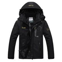 2019 Mens Winter Warm Fleece Outdoor Waterproof Jacket Sport Coat for Hiking Camping Trekking Skiing Male Jackets цены онлайн