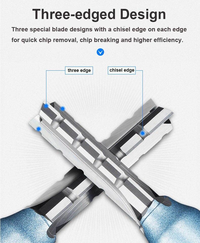 Tideway grau industrial 12 haste três lâmina