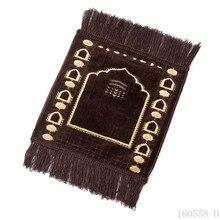 35*35cm Muslim Prayer Carpet Outdoor Garden Rug Pilgrimage small Carpets For Living Room Home Livingroom Bedroom Bedside