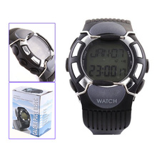 YCYS-New Hot Sale Black Sport Pulse Heart Rate Calorie Counter Watch with Monitor